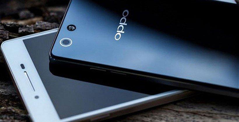 Ilustrasi smartphone Oppo