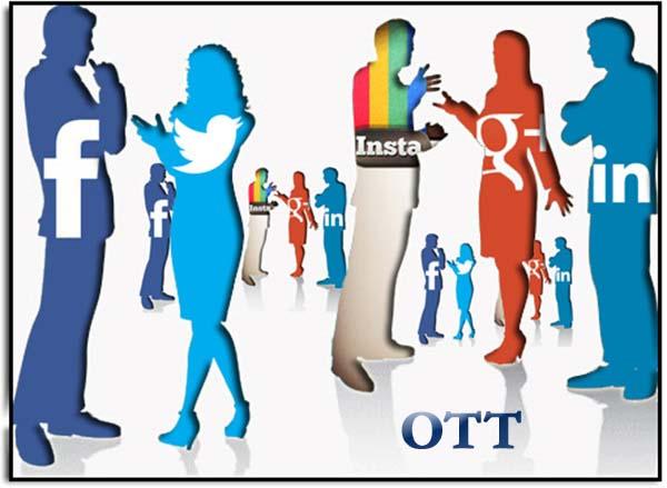 Social media sebagai salah satu bentuk layanan OTT (img: soshable.com)