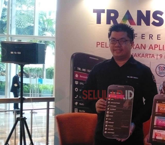 Brando Tengdom, Direktur Marketing & Sales Transvision