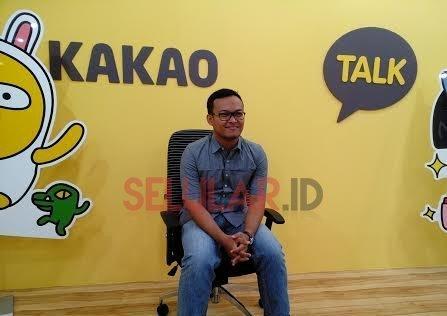 Khiko Rayesmara, di kantor representatif Daum Kakao di Jakarta (foto: Choi/Selular.ID)