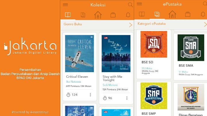 perpustakaan online baca buku digital gratis