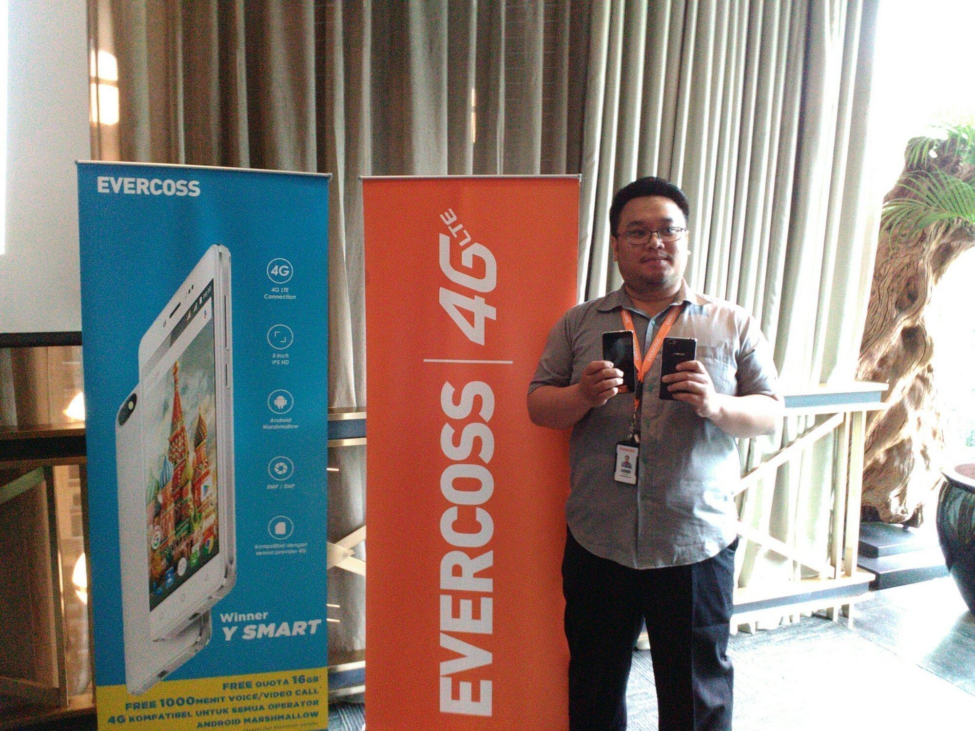 SelularID TKDN Smartphone Evercoss Sudah 30