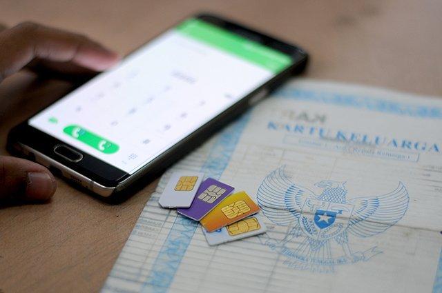 cara registrasi ulang kartu prabayar semua operator