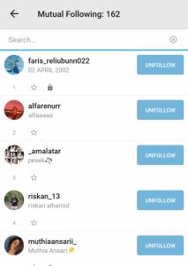 cara melacak aktivitas instagram, aplikasi untuk melihat follower, aplikasi unfollow otomatis, cek unfollowers instagram