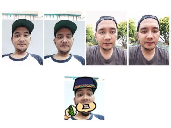 Foto Selfie Samsung Galaxy A6 Plus