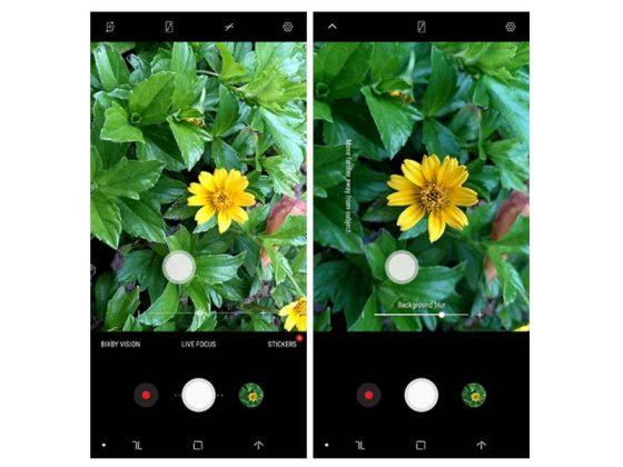 Mode Kamera Samsung Galaxy A6 Plus