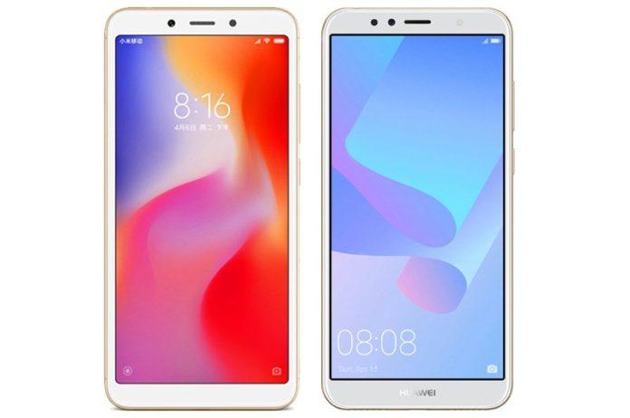 Komparasi Huawei Y6 VS Xaiomi Redmi 6A