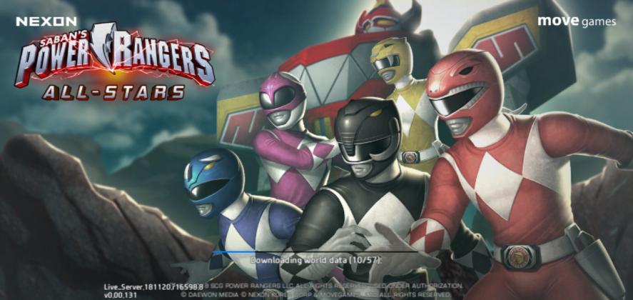 Game Power Rangers RPG