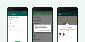 cara menolak grup whatsapp, membatasi undangan grup whatsapp