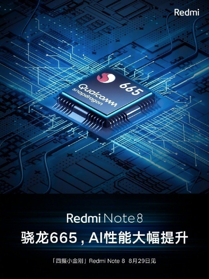 Chipset Redmi Note 8