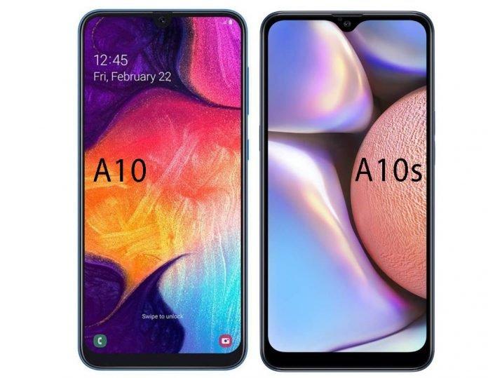 Perebedaan samsung A10 dan A10s, Samsung A10 Series