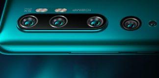 Kamera Xiaomi mi note 10