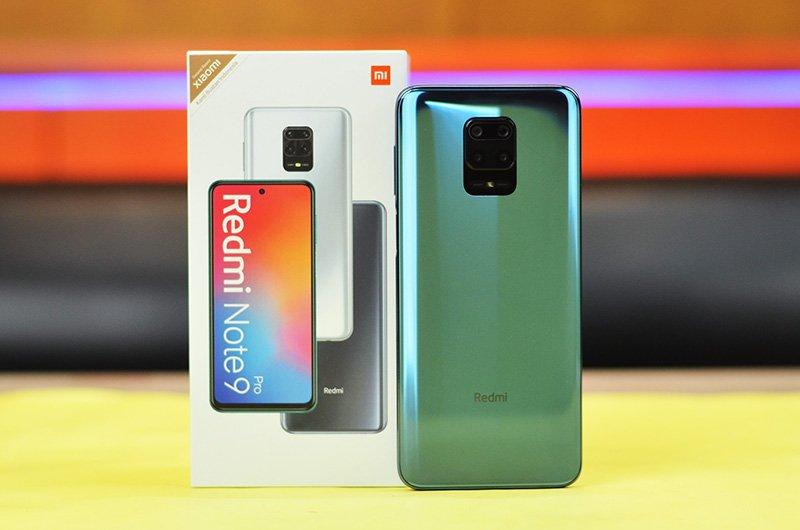 Redmi note 9 Pro, smartphone kamera quad xiaomi