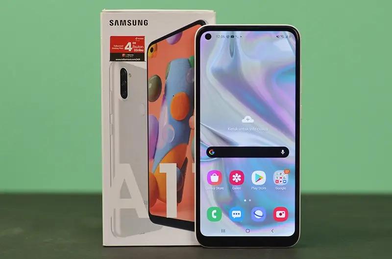 Samsung Galaxy A11, smartphone triple camera
