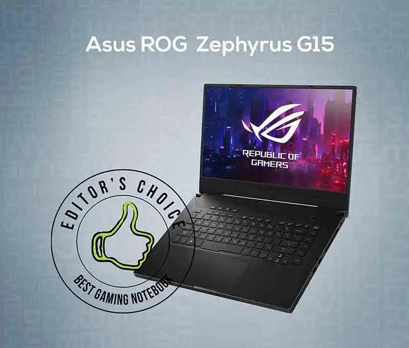 Asus ROG Zephyrus G15 - Best Laptop Gaming